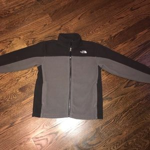 The North Face fleece jacket size M(10-12)